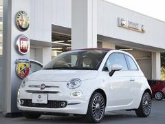 フィアット 500Cツインエア ラウンジ 登録済未使用車 新車保証付