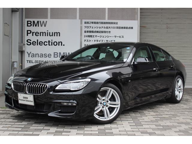 BMW 640iグランクーペ Mスポーツ 直列6気筒ターボエンジン
