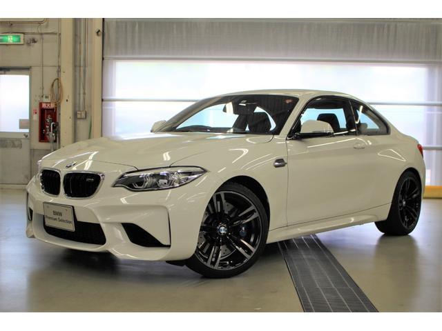 BMW M2 認定中古車 弊社テモ 7段AT 禁煙黒革 鑑定書付
