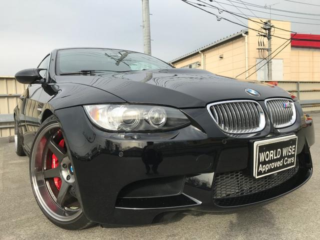 BMW M3クーペ 左ハンドル 赤レザー 地デジ ブレンボGTキット