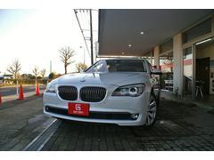 BMWアクティブハイブリッド7 左ハンドル