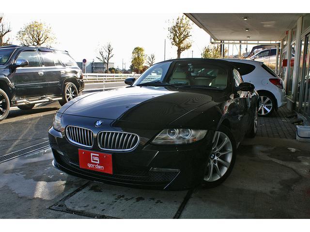 BMW Z4 ロードスター3.0si ベージュレザーシートヒート幌修理引き渡し
