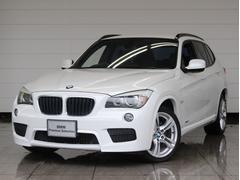 BMW X1sDrive 18i Mスポーツ ナビ 黒レザー 認定中古車
