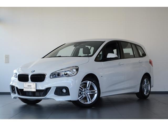 BMW 218iグランツアラー Mスポーツ 認定中古 登録済未使用車