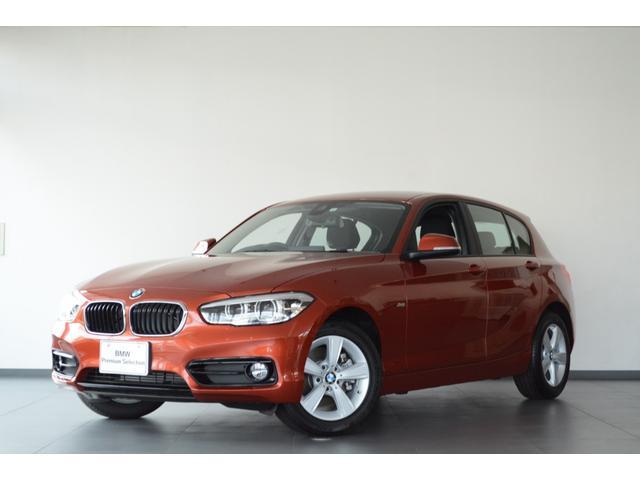 BMW 118d スポーツ 認定中古車 登録済未使用車 クルコン