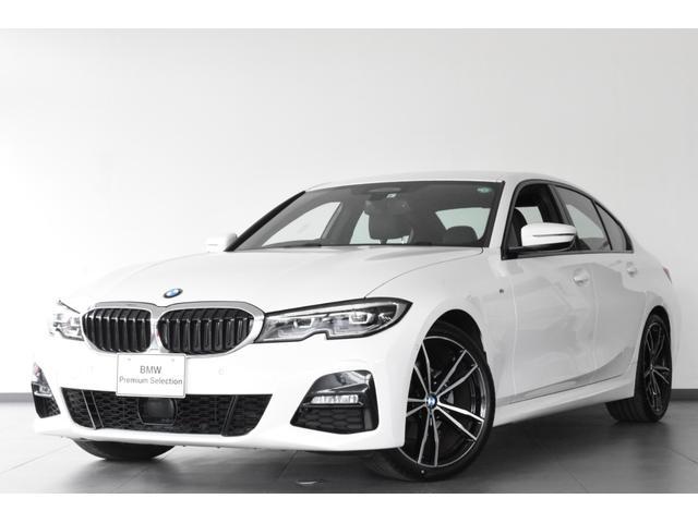 BMW 320i Mスポーツ 認定中古車 元弊社試乗車 衝突軽減ブレーキ ACC Bカメラ 前後障害物センサー 黒レザー 電動シート&テールG シートH ミラー内蔵型ETC LED SOS 純19AW 純HDDナビ コンフォートA