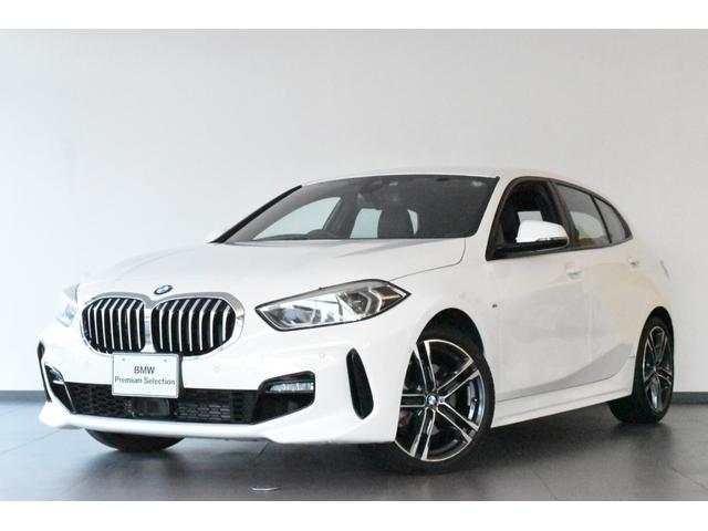 BMW 1シリーズ 118i Mスポーツ 認定中古車 元弊社試乗車 ACC 衝突軽減ブレーキ Bカメラ 前後障害物センサー 電動シート&テールG ミラー内蔵型ETC 純正HDDナビ 純正18AW LEDライト コンフォートアクセス