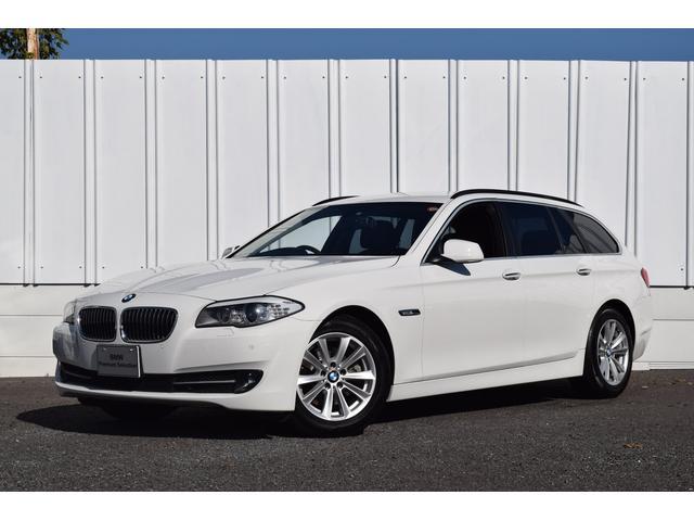 BMW 523dツーリングハイライン 黒革 地デジ ナビ 認定中古車