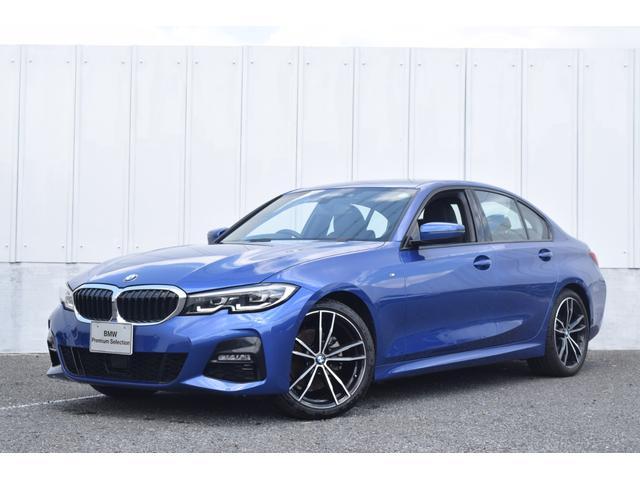 BMW 3シリーズ 320i Mスポーツ 正規認定中古車 デモカー使用車 デビューPKG コンフォートPKG 黒レザーシート 19インチAW LEDエッドライト ジェスチャーコントロール ワイヤレス携帯チャージ