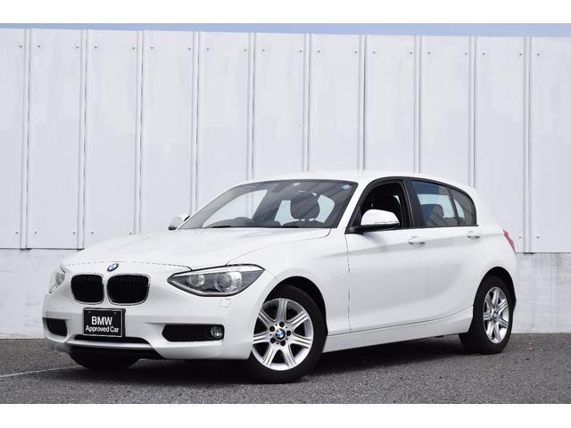 BMW 116i 認定中古車 一年メーカー保証付き ワンオーナー車 純正16インチAW キセノンヘッドライト ETC車載器 低走行車 記録簿付
