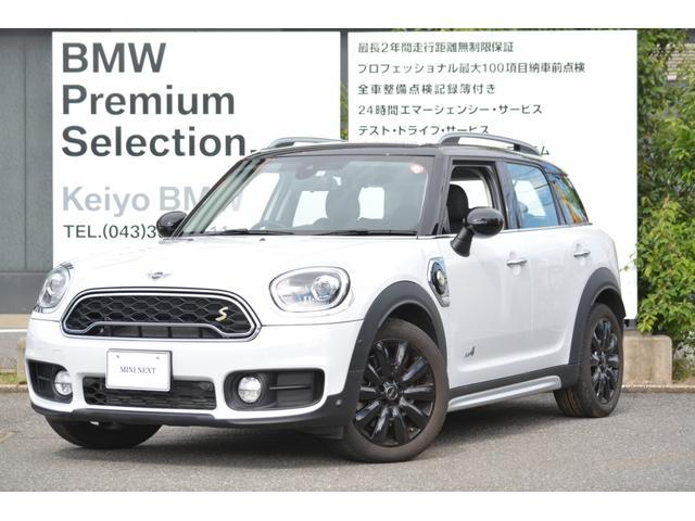 MINI クーパーS E クロスオーバー オール4 デモカー ブラックレザー 電動シート LEDライト ACC 18インチAW シートヒーター
