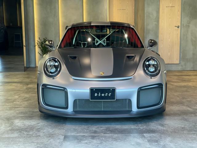 ポルシェ 911 911GT2 RS ヴァイザッハPKG フロントリフトシステム BOSEサウンドシステム プロテクションフィルム レザー仕上げダッシュボードトリムPKG スポーツクロノPKG センタートンネルレザー カラーメーター