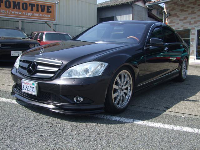 メルセデス・ベンツ S550ロングAMGスポーツエディションDVDナビETC