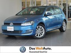 VW ゴルフTSIハイライン 黒革 追従機能 純正ナビ 認定中古車