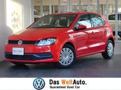 VW ポロコンフォートライン 前車追従機能 ETC AW 認定中古車