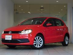 VW ポロプレミアムEDナビpkg 新車保証付 純ナビ 認定中古車