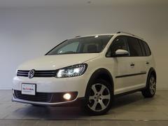 VW ゴルフトゥーランクロストゥーラン リアモニター 純ナビ キセノン 認定中古車