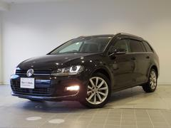 VW ゴルフヴァリアントハイライン ワンオーナー 純ナビ 障害物センサー 認定中古車
