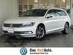 VW パサートヴァリアントハイライン 認定中古車  ワンオーナー 黒革 純正ナビ