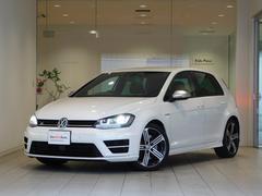 VW ゴルフRベースグレード 純正ナビ ワンオーナー 認定中古車