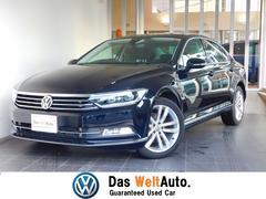VW パサートTSIハイライン 黒レザー シートヒーターACC 認定中古車