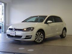 VW ゴルフTSIコンフォートラインブルーモーションテクノロジー 追従