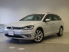 VW ゴルフヴァリアントTSIハイライン 新型7.5 デジタルメーター 認定中古車