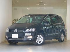 VW シャランTSI コンフォートライン 黒レザー ワンオーナー認定中古車