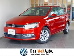 VW ポロTSIコンフォートライン 純正ナビ バックカメラ 認定中古車