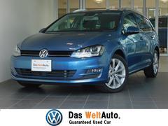 VW ゴルフヴァリアント認定中古保証 純正SDナビ パークセンサー ETC