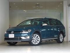 VW ゴルフオールトラックTSI 4モーション ピーコックグリーン 4WD 認定中古車