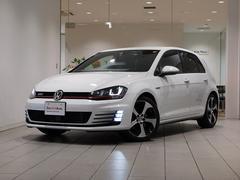 VW ゴルフGTIベースグレード DCC 可変サスシステム 純ナビ 認定中古車