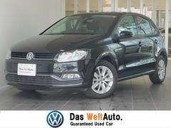 VW ポロTSIコンフォートラインアップグレード 認定中古車 純正ナビ