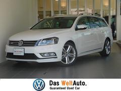 VW パサートヴァリアントRラインエディション 純正ナビ Bカメラ 認定中古車