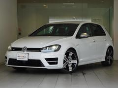 VW ゴルフRベースグレード 6速マニュアルシフト 純正ナビ 認定中古車