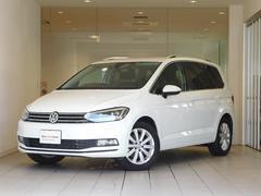 VW ゴルフトゥーランTSI ハイライン ワンオーナー 純正ナビ 認定中古車