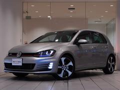 VW ゴルフGTIDCC付 純正ナビ 新車保証継承付 ACC 認定中古車