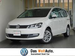 VW シャランTSI ハイライン レザーシート 純正ナビ 認定中古車