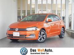 VW ポロTSIコンフォートライン 弊社デモカー 純正ナビ 認定中古車