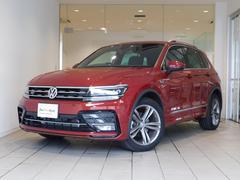 VW ティグアンTSI Rライン デジタルメーター ACC 認定中古車