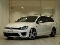 VW ゴルフRヴァリアント4モーション バックカメラ 認定中古車