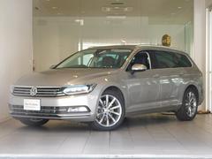 VW パサートヴァリアントTSIハイライン 純正ナビディスカバープロ 革 認定中古車