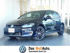 VW ゴルフGTE純正SDナビ(ディスカバープロ)Bカメ 認定中古車