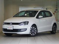 VW ポロブルーモーション Bカメ キセノン 純SDナビ 認定中古車