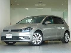 VW ゴルフTSIハイライン ワンオーナー 純正ナビ 認定中古車