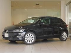 VW ポロTSIハイライン  デモカー 純正ナビ 新車保証継承