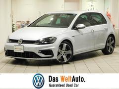 VW ゴルフRベースグレード デモカー 新車保証継承 ホワイトシルバー