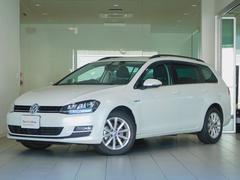 VW ゴルフヴァリアントラウンジ オリックスホワイト 350台限定 認定中古車