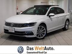 VW パサート2.0TSI Rライン 弊社デモカー サンルーフ 新車保証付