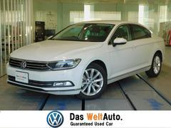 VW パサートTSIエレガンスライン 弊社試乗車 フルセグ LED 真珠白